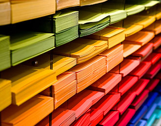 Coloured paper printing options