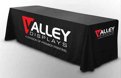 Custom print on fabric table cloth